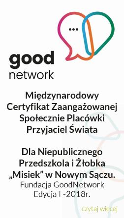 Międzynarodowy Certyfikat Zaangażowanej Społecznie Placówki - Przyjaciel Świata